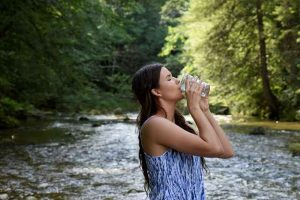 drinking water for skin glow